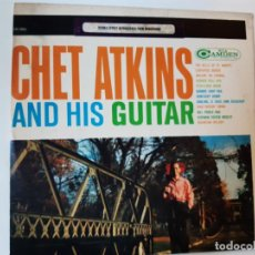 Dischi in vinile: CHET ATKINS AND HIS GUITAR - USA LP.. Lote 220913451