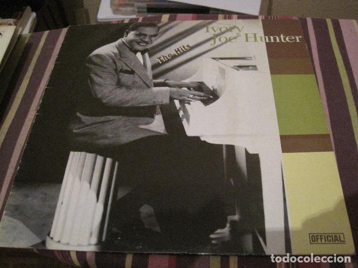 Discos de vinilo: LP IVORY JOE HUNTER THE HITS OFFICIAL REC. 6040 R&B JAZZ - Foto 1 - 185961288