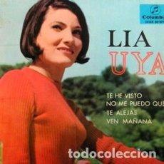 Disques de vinyle: LIA UYA - LIA UYA. Lote 181332650