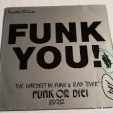 Discos de vinilo: VARIOUS - FUNK YOU! PROGRAMME 2 - 1983. Lote 185961973