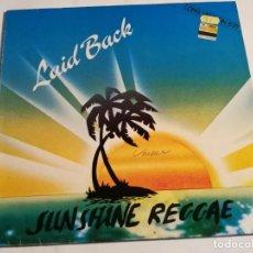 Discos de vinilo: LAID BACK - SUNSHINE REGGAE - WHITE HORSE - 1983. Lote 185962618