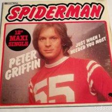 Discos de vinilo: PETER GRIFFIN - SPIDERMAN - 1979. Lote 185962756