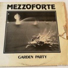 Discos de vinilo: MEZZOFORTE - GARDEN PARTY - 1983. Lote 185965333