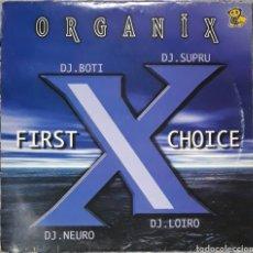 Discos de vinilo: VINILO D.J BOTI & D.J SUPRU ORGANIX X CHOICE. Lote 185965693
