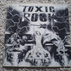Discos de vinilo: LP. TOXIC ROCK. PLANTA BAIXA, LAST TREMOR, TRASGOS ACERBOS, PHANTOM LORD, LEYENDA, PROFECIA, AL ..... Lote 185965887