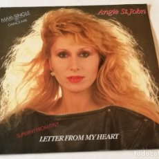 Discos de vinilo: ANGIE ST. JOHN - LETTER FROM MY HEART - 1981. Lote 185966277
