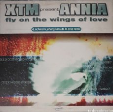 Discos de vinilo: VINILO XTM PRESENT ANNA FLY ON THE WINGS OF LOVE. Lote 185966798
