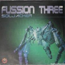Disques de vinyle: VINILO FUSSION THREE SOLJACHER. Lote 185967231
