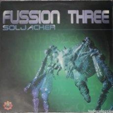 Discos de vinilo: VINILO FUSSION THREE SOLJACHER. Lote 185967231