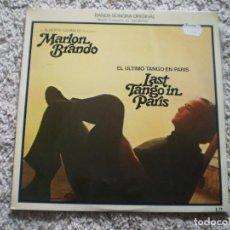 Discos de vinilo: LP. EL ULTIMO TANGO EN PARIS. BUENA CONSERVACION. Lote 185967441