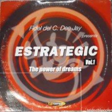 Discos de vinilo: VINILO FIDEL DEL C.DEE JAY ESTRATEGIC VOL.1 THE POWER OF DREAMS. Lote 185967665