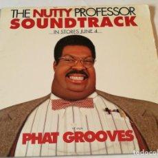 Discos de vinilo: VARIOUS - THE NUTTY PROFESSOR SOUNDTRACK: PHAT GROOVES - 1996. Lote 185967705
