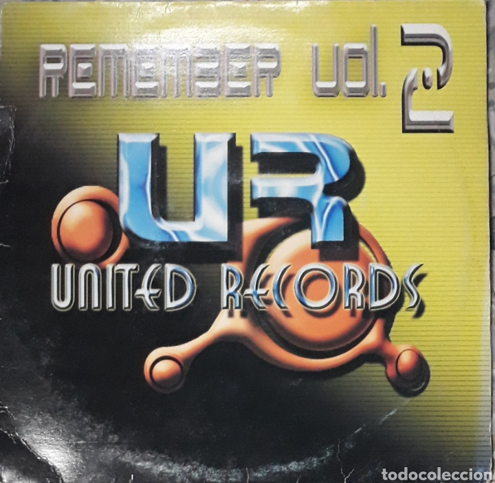 MUY BUENA CONSERVACION REMEMBER VOL.2 (Música - Discos - LP Vinilo - Techno, Trance y House)