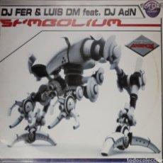 Discos de vinilo: VINILO D.J FER & LUIS DM SR.MBOLIUM. Lote 185969536