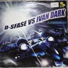 Discos de vinilo: D-SFASE VS IVAN DARK FLABBERGSSTED. Lote 185972930