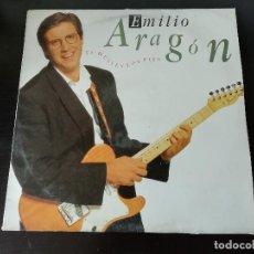 Discos de vinilo: EMILIO ARAGÓN: TE HUELEN LOS PIES - LP (1990). Lote 185979043