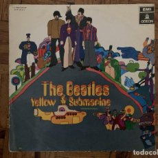 Discos de vinilo: THE BEATLES – YELLOW SUBMARINE LABEL: ODEON – 1 J-062-04.002 FORMAT: VINYL, LP, ALBUM . Lote 185979417