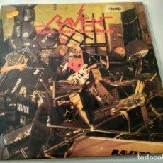 Discos de vinilo: LP RAVEN - ROCK UNTIL YOU DROP. Lote 185980328