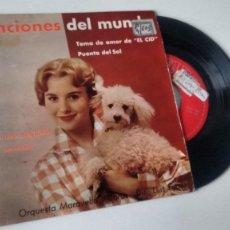 Discos de vinilo: SINGLE ( VINILO) DE ORQUESTA MARAVELLA AÑOS 60. Lote 185980720