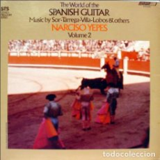 Discos de vinilo: NARCISO YEPES ‎– THE WORLD OF THE SPANISH GUITAR VOL. 2. Lote 185982116