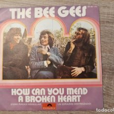 Discos de vinilo: BEE GEES ,HOW CAN YOU MEND A BROWN HEART-COUNTRY WOMAN.1971. Lote 185982812