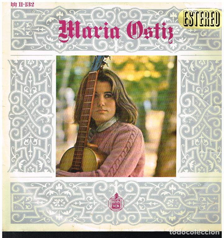 MARIA OSTIZ - MARIA OSTIZ - LP 1967 (Música - Discos - LP Vinilo - Solistas Españoles de los 50 y 60)