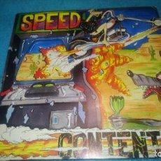 Discos de vinilo: SPEED - CONTENTO / ERNESTO ESTA PUESTO (1989). Lote 185992831