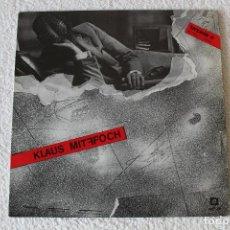 Discos de vinilo: KLAUS MITFFOCH: M.T. KLAUS MITFFOCH - LP. TONPRESS / SOÑUA 1986 (CON ENCARTE) - EDICIÓN ESPAÑOLA. Lote 185995506