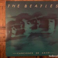 Discos de vinilo: THE BEATLES – CANCIONES DE AMOR SELLO: ODEON – 10C 170-006560/1 FORMATO: 2 × VINYL, LP, COMPILATI. Lote 185997545