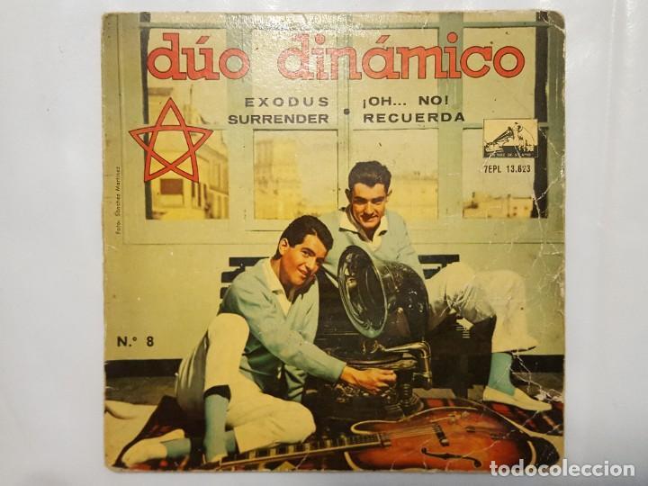 EP / DUO DINAMICO / EXODUS - SURRENDER - ¡OH... NO! - RECUERDA / 1961 (VINILO AZUL) (Música - Discos de Vinilo - EPs - Grupos Españoles 50 y 60)