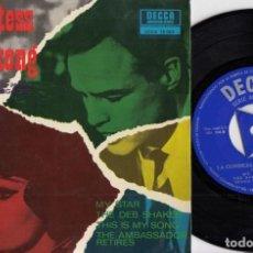 Discos de vinilo: LA CONDESA DE HONG KONG - EP BANDA SONORA ORIGINAL - CHARLES CHAPLIN #. Lote 186002521
