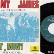 Discos de vinilo: TOMMY JAMES AND THE SHONDELLS - MONY MONY - SINGLE DE VINILO EDICION ESPAÑOLA #. Lote 186003071