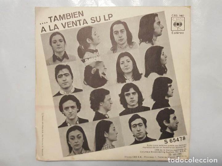 Discos de vinilo: SINGLE / JUBAL / ERA DE LATON - LA TARARA / 1973 - Foto 2 - 186005618