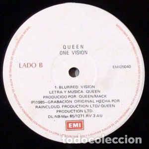 Discos de vinilo: Queen – One Vision (Extended Vision) - Foto 4 - 186014950