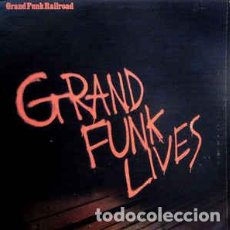 Discos de vinilo: GRAND FUNK RAILROAD – GRAND FUNK LIVES. Lote 186017646