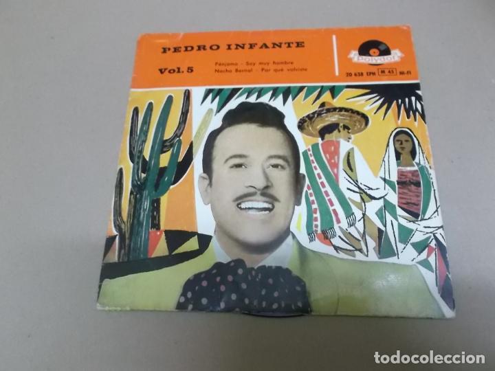 PEDRO INFANTE (EP) PENJAMO AÑO – 1959 (Música - Discos de Vinilo - EPs - Grupos y Solistas de latinoamérica)