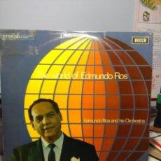 Discos de vinilo: LP ORQUESTA DE EDMUNDO ROS: THE WORD OF EDMUNDO ROS . Lote 186026512