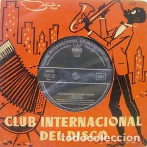 JACK TEAGARDEN E BARNEY BIGARD – JACK TEAGARDEN E BARNEY BIGARD (CID, CID-1721, 7'', EP, 1959) (Música - Discos de Vinilo - EPs - Jazz, Jazz-Rock, Blues y R&B)
