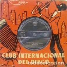 Discos de vinilo: JACK TEAGARDEN E BARNEY BIGARD – JACK TEAGARDEN E BARNEY BIGARD (CID, CID-1721, 7'', EP, 1959). Lote 186026902