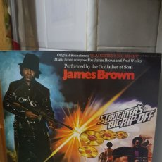 Discos de vinilo: LP JAMES BROWN SLAUGHTERS BIGRIP-POP. Lote 186029680
