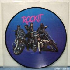 Discos de vinilo: ROCK IT - ROCK 'N' ROLL HITS 1982 ED DANESA / PICTURE DISC. Lote 186029920
