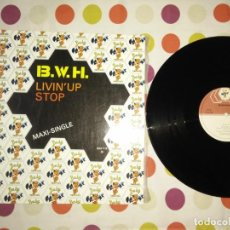 Discos de vinilo: B.W.H. – LIVIN' UP / STOP . Lote 186031237
