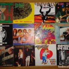 Discos de vinil: 24 SINGLES DE POP Y ROCK NACIONAL AÑOS 90. Lote 186031538