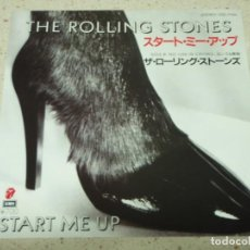 Discos de vinilo: THE ROLLING STONES - START ME UP - NO USE IN CRYING 1981-JAPON SINGLE45 EMI ROLLING STONES REC. Lote 186028462