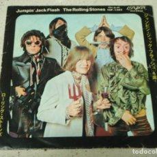 Discos de vinilo: THE ROLLING STONES - JUMPIN' JACK FLASH - CHILD OF THE MOON 1968-JAPON SINGLE45 LONDON RECORDS. Lote 186029696