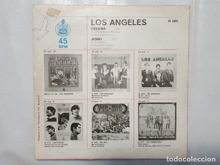 Discos de vinilo: SINGLE / LOS ANGELES / CREEME - JENNY / 1968 - Foto 2 - 186042033