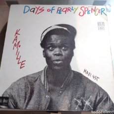 Discos de vinilo: KAMILLE - DAYS OF PEARLY SPENCER. Lote 186043213