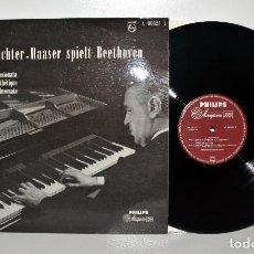 Discos de vinilo: HANS RICHTER-HAASER SPIELT BEETHOVEN - PHILIPS A00325L HOLANDA NM/EX. Lote 186046013