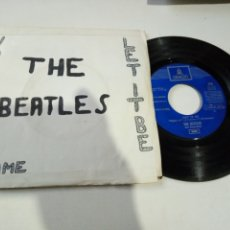 Discos de vinilo: THE BEATLES LET IT BE / YOU KNOW MY NAME. Lote 186046282