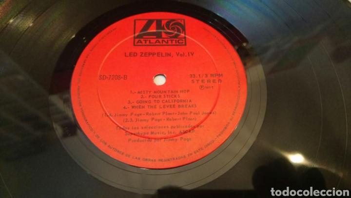 Discos de vinilo: Led Zeppelin. Vol IV. Rara edición de Chile original de 1975. Buen estado. Edicion chilena - Foto 4 - 186046753